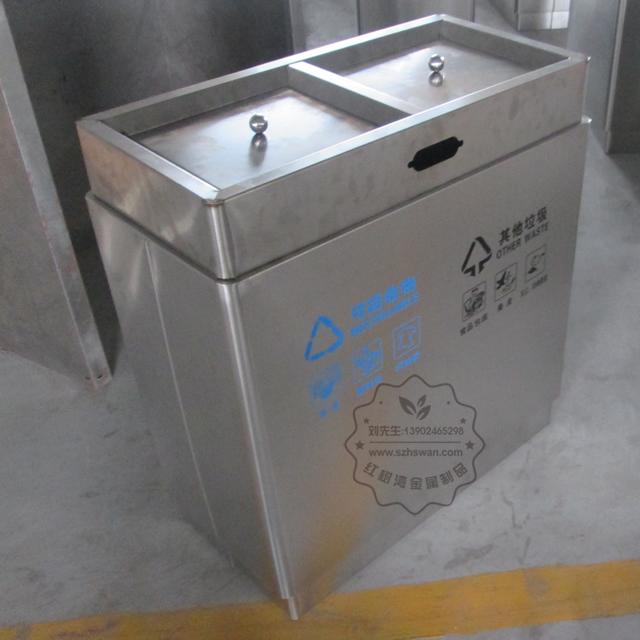 广东不锈钢垃圾桶图片001