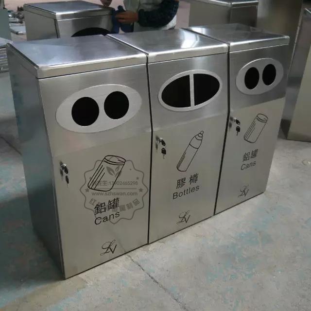 广东不锈钢垃圾桶图片003