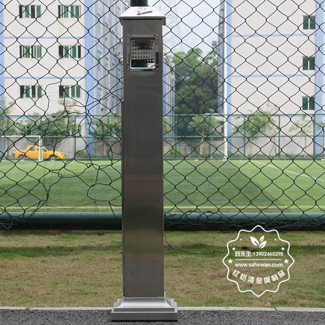 户外方形不锈钢烟灰柱003