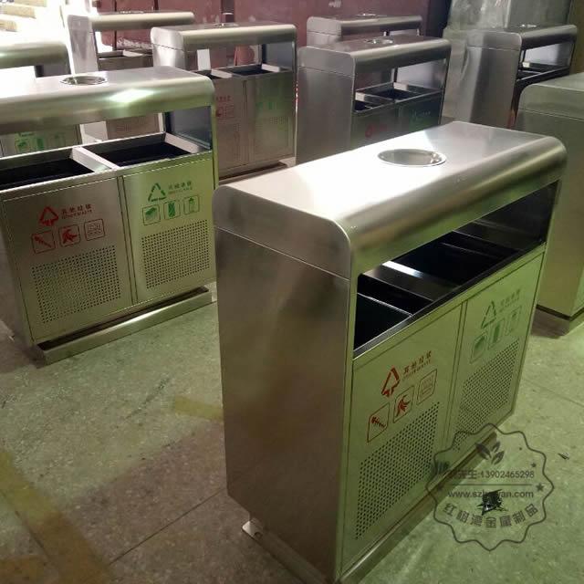 不锈钢地铁垃圾桶图片003