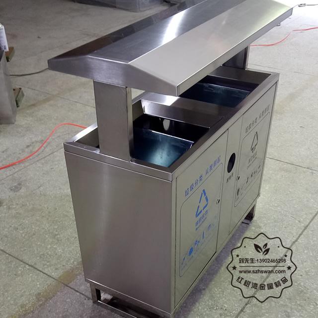 户外分类方形垃圾桶图片001