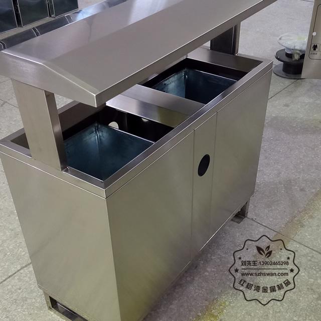 户外分类方形垃圾桶图片003