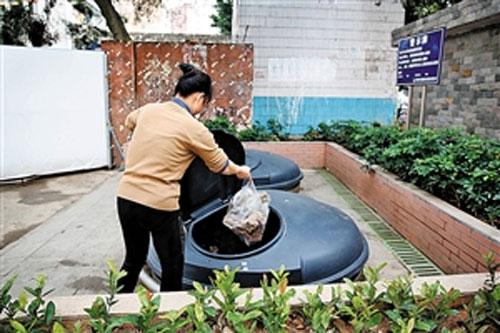 烟台千套地埋式垃圾箱净化多个小区环境