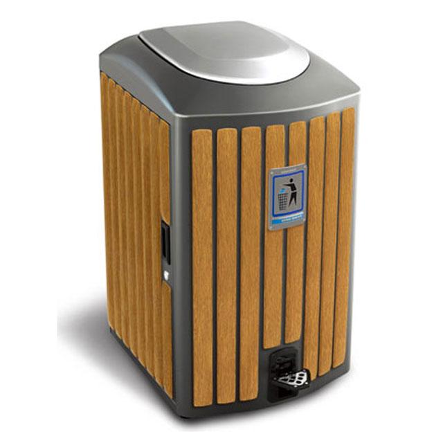钢木垃圾桶产品工艺大全