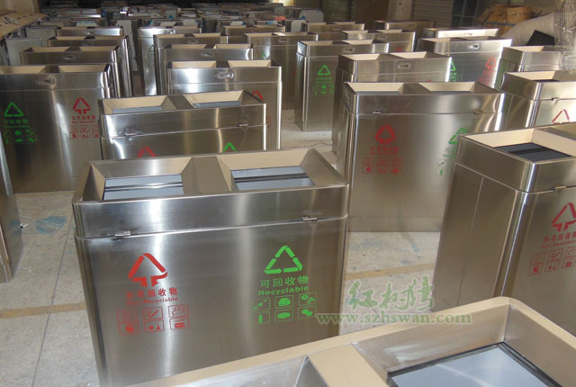 不锈钢垃圾桶材料的使用及选择