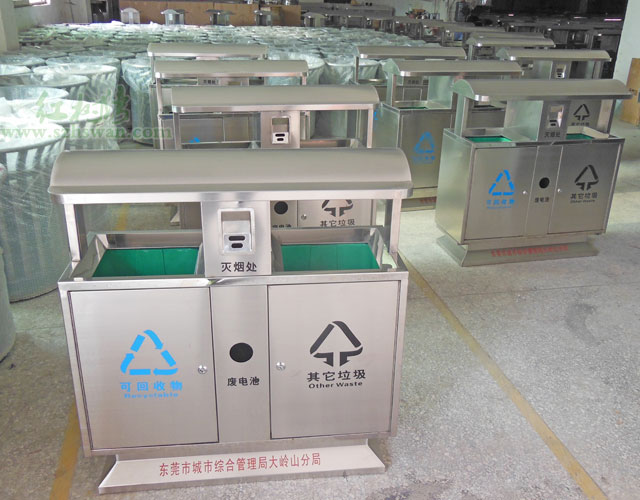 干湿两类垃圾桶将进入上海家庭