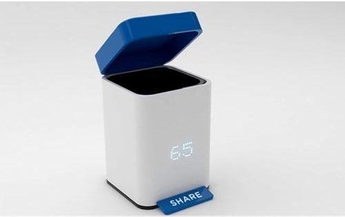 创意计数垃圾桶时尚新选择