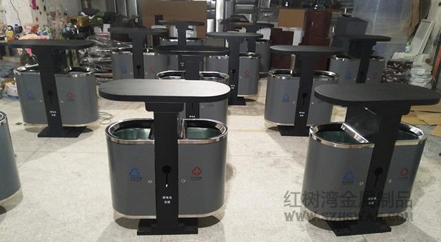 放在公园景区的钢制垃圾桶能用多少年?