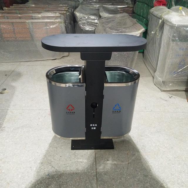 市政不锈钢垃圾桶图片015