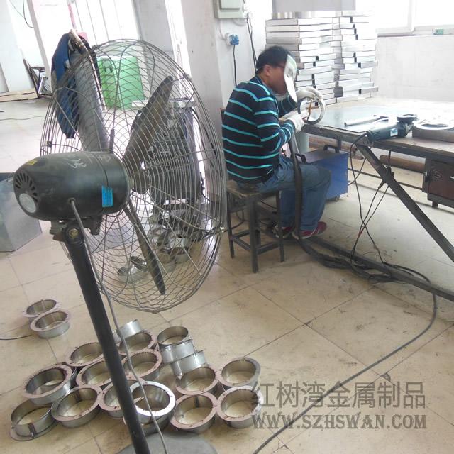 焊接不锈钢垃圾桶