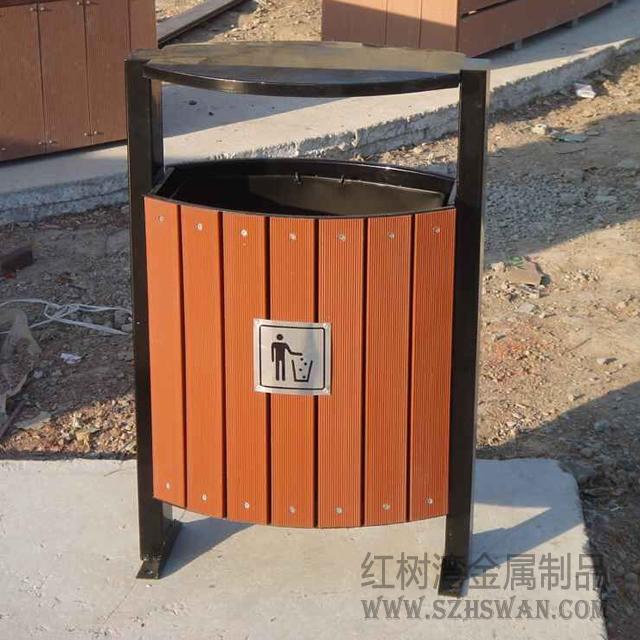 三河景区古镇垃圾桶图片