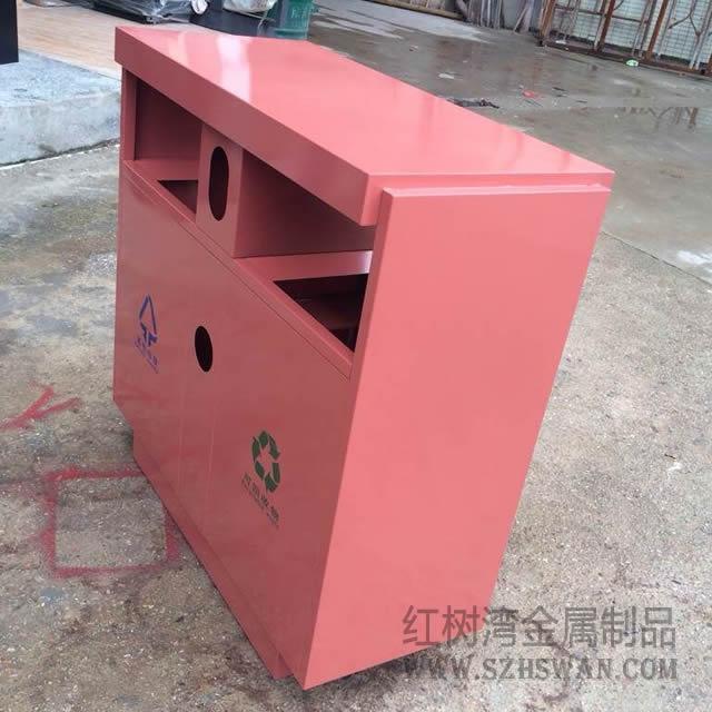 喷塑分类户外不锈钢垃圾桶垃圾桶图片008