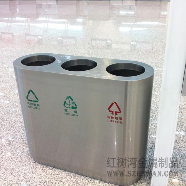 机场不锈钢超大垃圾桶