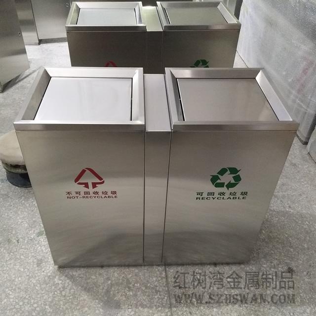淄博室内不锈钢垃圾桶厂家直销