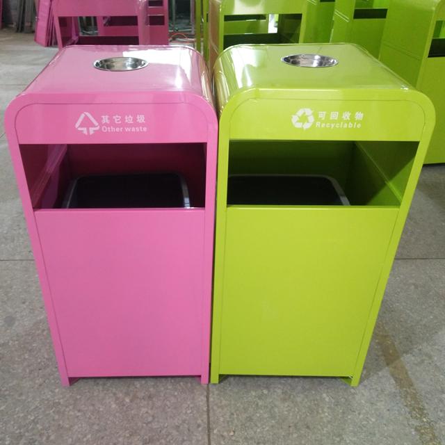 市政不锈钢垃圾桶图片012