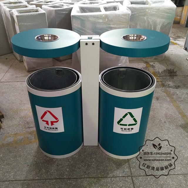 户外分类不锈钢垃圾桶图片009