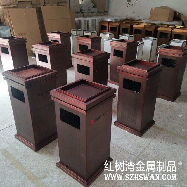 江门室内户外不锈钢垃圾桶生产厂家