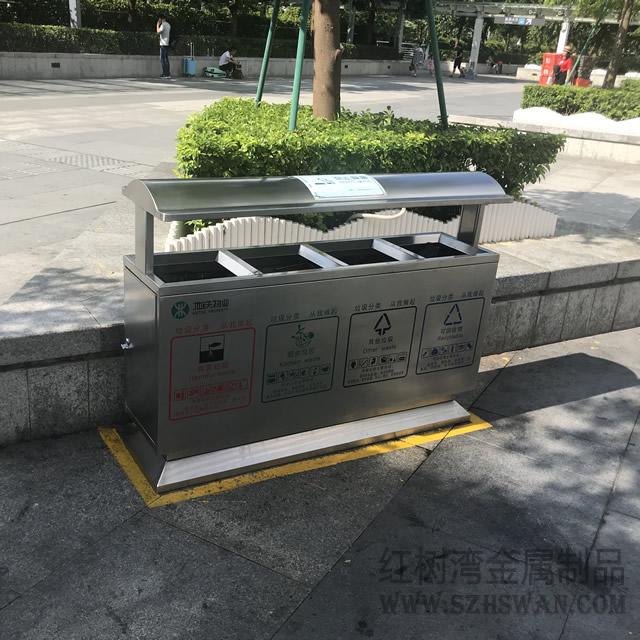 户外不锈钢果皮箱的材质环保吗?