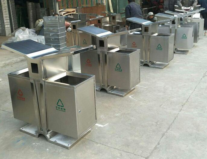 不锈钢垃圾桶产品产品002