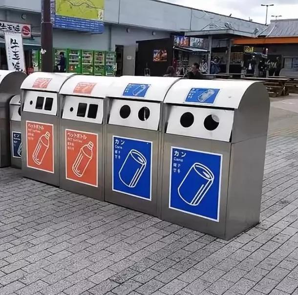 不锈钢垃圾箱001