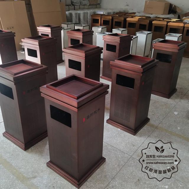 不锈钢垃圾桶图片002