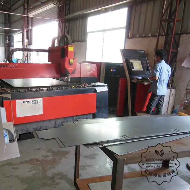 不锈钢垃圾箱生产机器