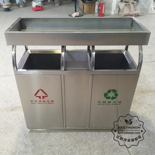 分类不锈钢垃圾桶图片001