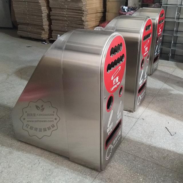 广东不锈钢垃圾桶图片004