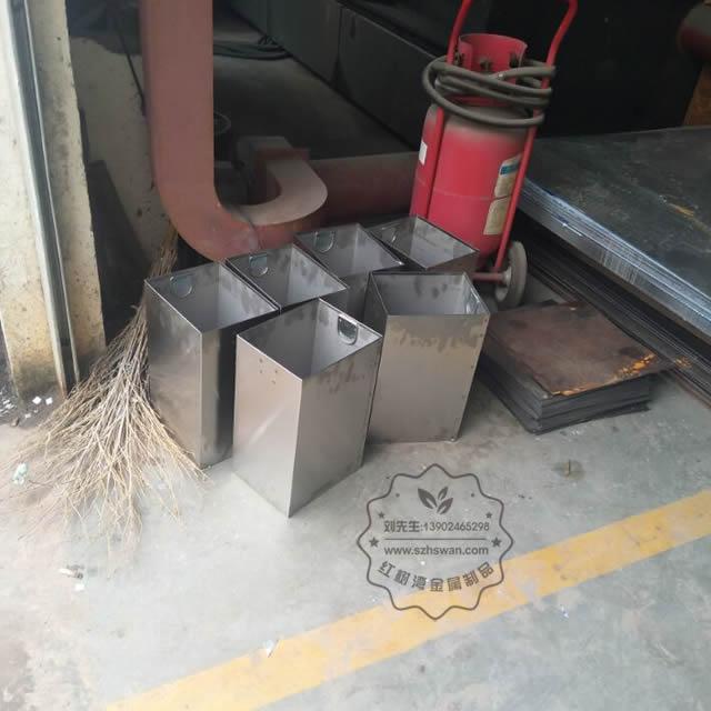 方形不锈钢垃圾桶内胆