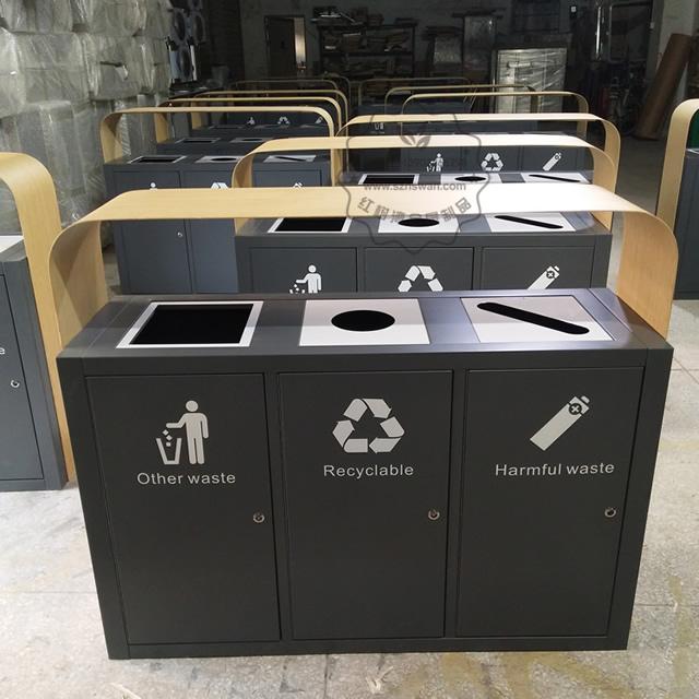 特色不锈钢垃圾桶图片004