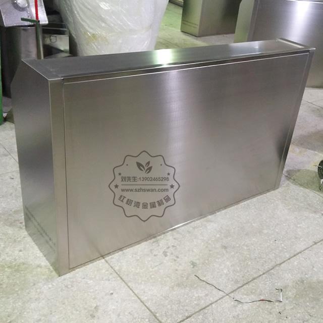 大号室外不锈钢四分类垃圾桶图片007