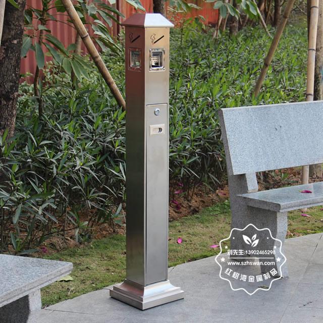 公共场所不锈钢灭烟柱图片001