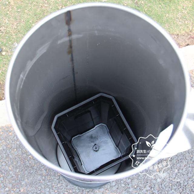 圆柱形不锈钢烟灰垃圾桶图片007