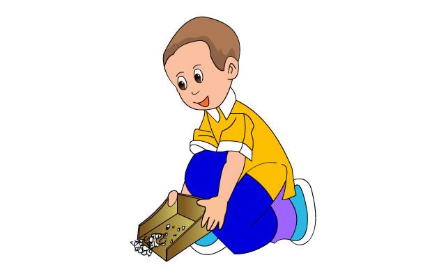 分类垃圾桶漫画图片02