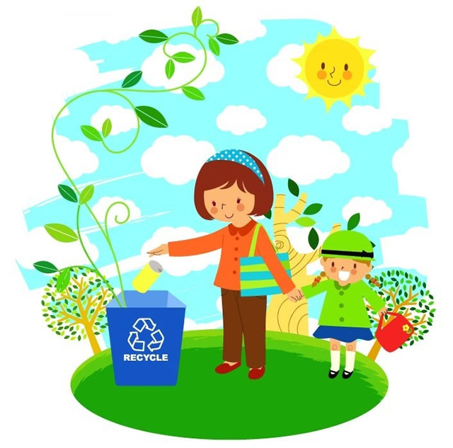 分类垃圾桶漫画图片03