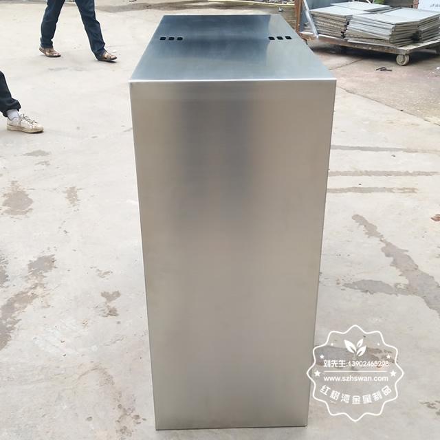 城市街道不锈钢分类垃圾桶图片4