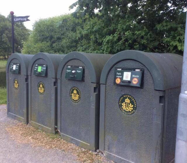 德国分类垃圾桶