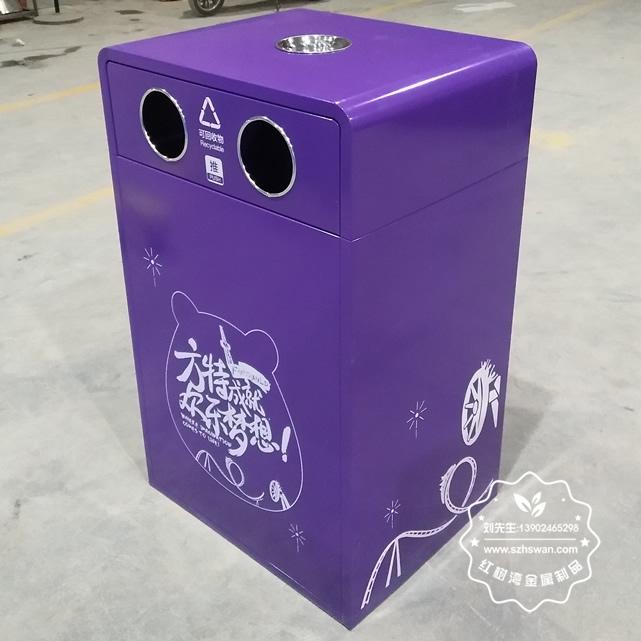 钢板钢制分类垃圾桶图片01