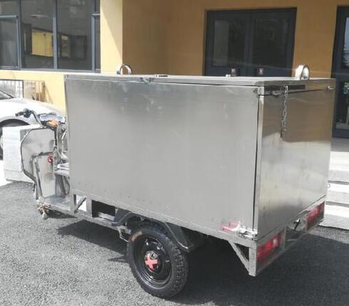 环卫不锈钢垃圾车