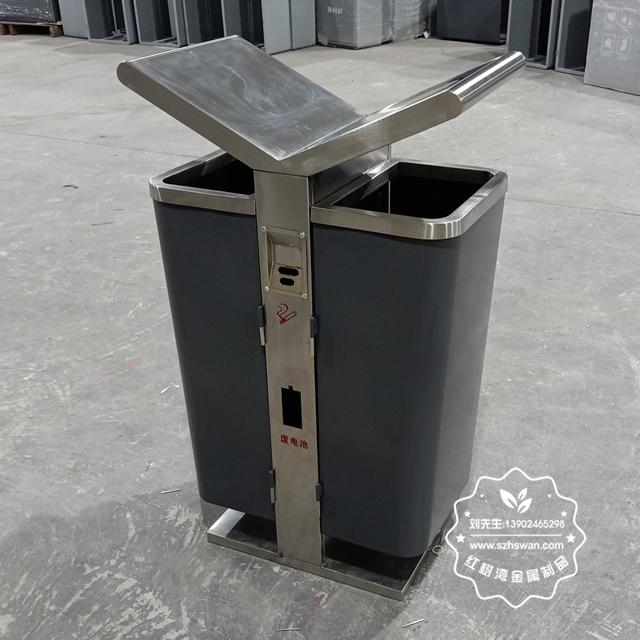 不锈钢垃圾桶