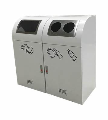 室内组合式分类钢制垃圾桶