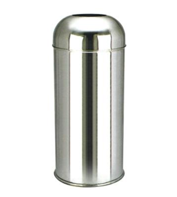 立式304不锈钢室内圆形垃圾桶