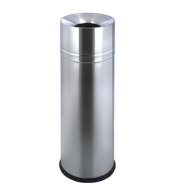酒店立式室内圆形不锈钢垃圾桶