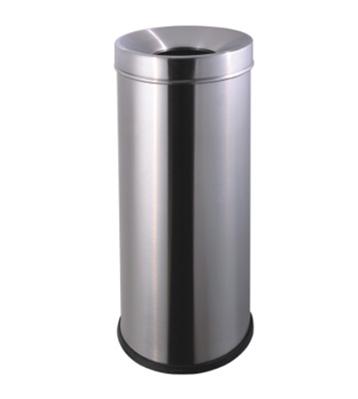 斜口不锈钢圆形垃圾桶主图