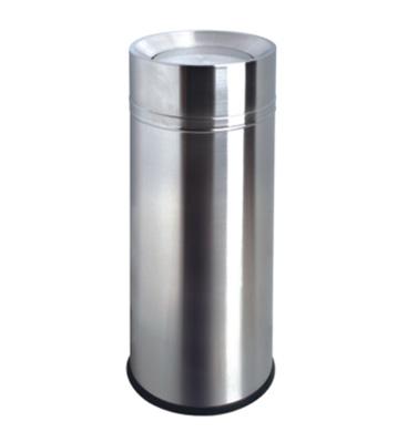 室内不锈钢圆形垃圾筒