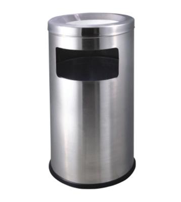室内圆形不锈钢垃圾桶