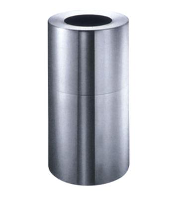 室内圆形铝制垃圾桶