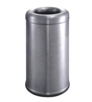 室内不锈钢圆弧盖垃圾桶