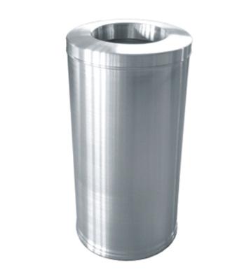 不锈钢港式圆形垃圾桶
