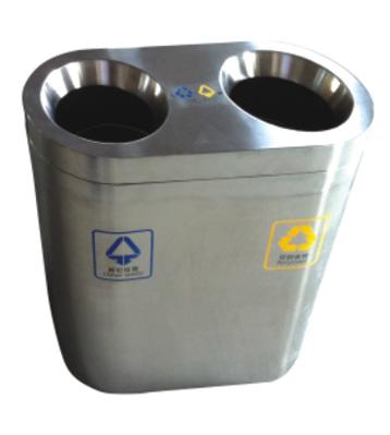 万达商场不锈钢垃圾桶